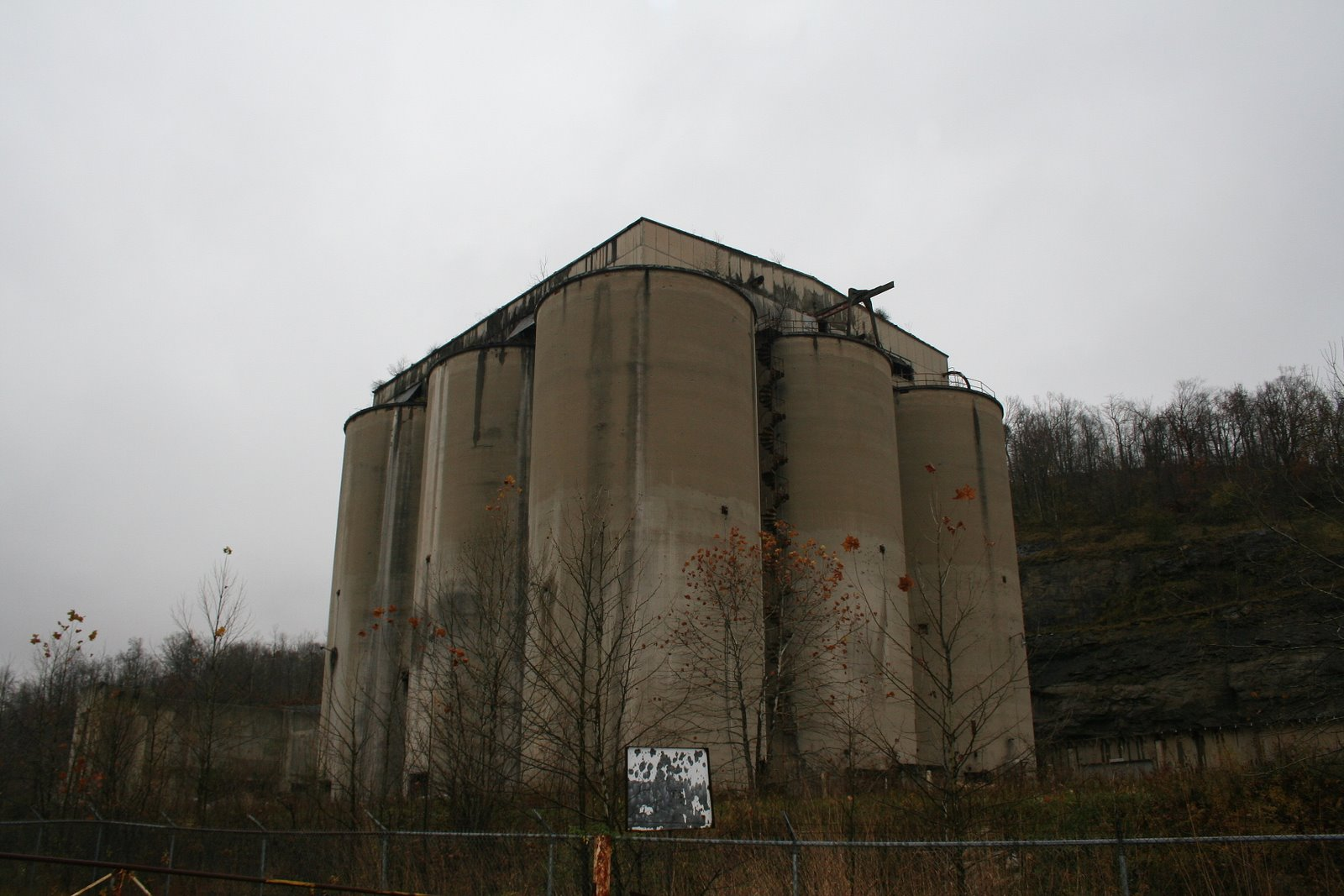 Abandoned Cement Factory : Abandoned cement plant in superior oh