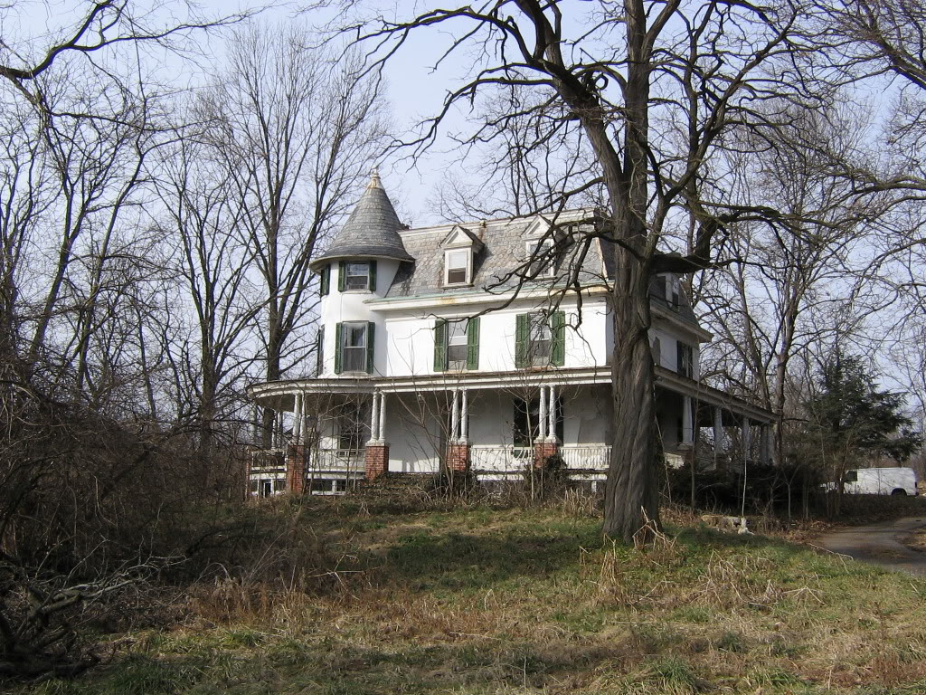 Abandoned Mansion And Guest House